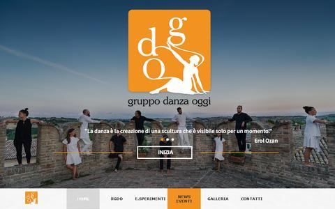 Screenshot of Home Page ilgdo.com - ilGDO - captured July 8, 2017