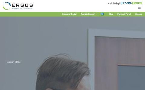 Screenshot of Testimonials Page ergos.com - Testimonials - ERGOS Technology - captured Dec. 17, 2015