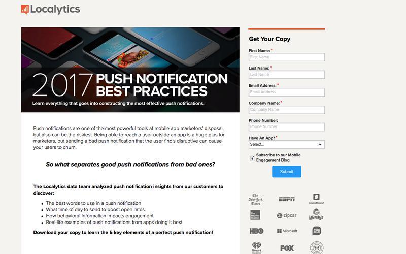 2017 Push Notification Best Practices