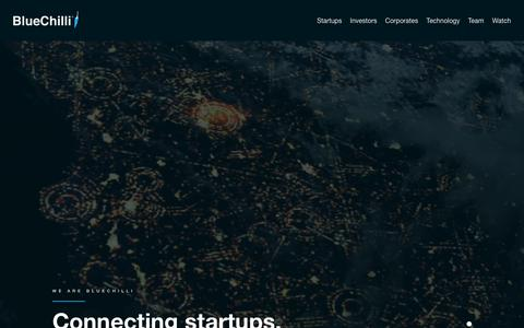 BlueChilli - Building startups who solve global challenges - BlueChilli