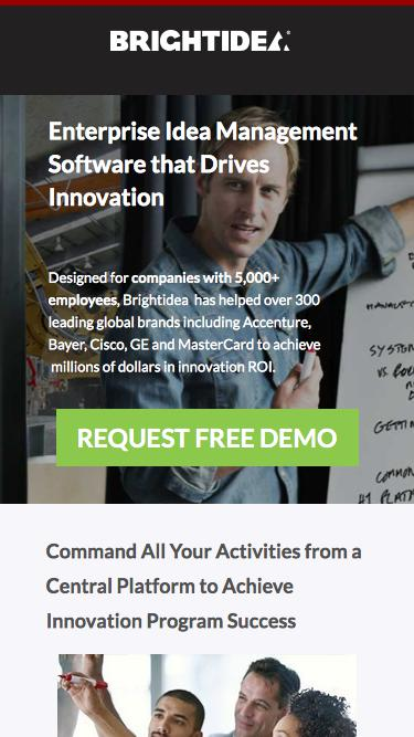 Brightidea Idea Management Software
