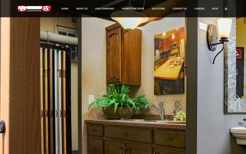 Screenshot of Products Page blenkerco.com - Products - Blenker Companies, Inc. - captured Nov. 22, 2016