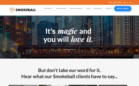Smokeball Legal Practice Management Software