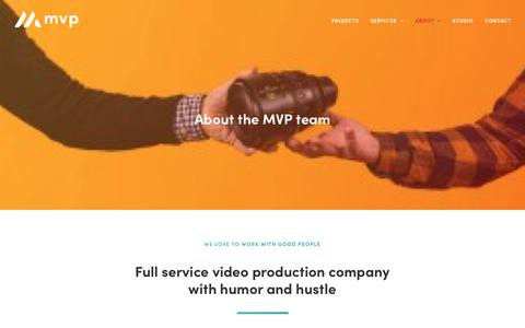 Screenshot of About Page maximizevideo.com - About Maximize Video Productions | San Francisco Bay Area Video Production Company - captured June 19, 2019