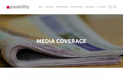 Media Coverage Archive - Pixability Pixability