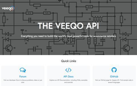 Developers - Veeqo
