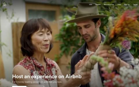 Host an experience on Airbnb