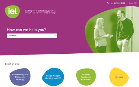 Screenshot of Home Page imagingequipment.co.uk - Imaging Equipment Ltd. Specialist distributor of medical technologies - captured Oct. 11, 2018