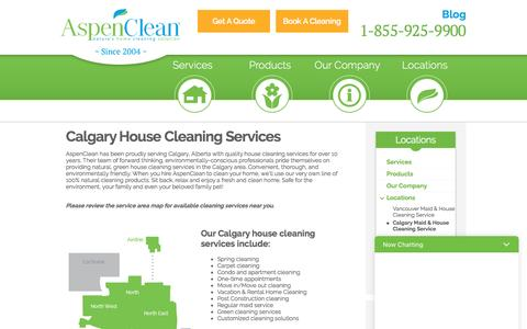 House Cleaning & Maid Services in Calgary, AB | AspenClean