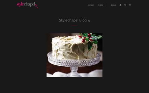 Screenshot of Blog stylechapel.com - Stylechapel Blog – stylechapel - captured Dec. 18, 2016