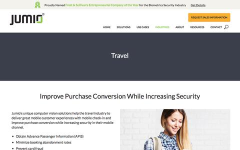 ID and Identity Verification for Travel Industry | Jumio