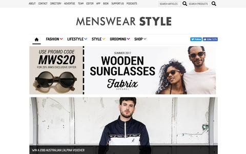 Men's Fashion Blog, Fashion Magazine, Fashion Tips