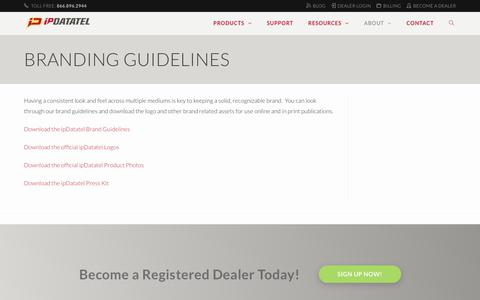 Branding Guidelines - ipDatatel