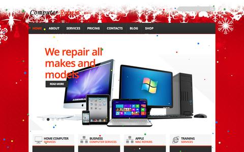 Screenshot of Home Page computer-repair-bolton.co.uk - Computer Repair | SalesÉServiceÉRepairs - captured Dec. 10, 2015