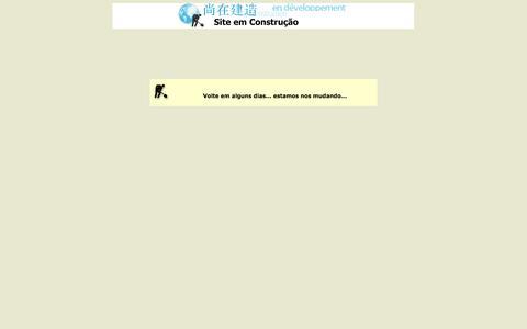 Screenshot of Home Page andrecarvalho.adv.br - Site em Construção - captured Oct. 4, 2014