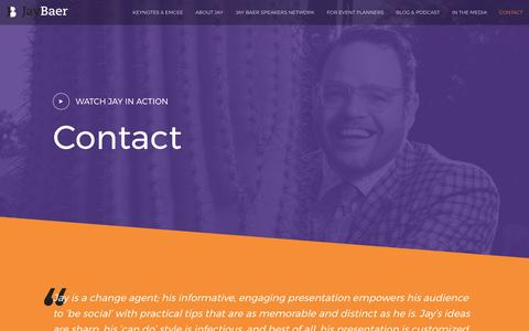 Contact | Jay Baer
