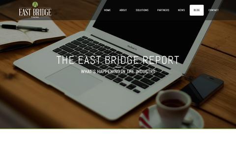 Screenshot of Blog eastbridgefunding.com - The East Bridge Report - captured Dec. 6, 2015