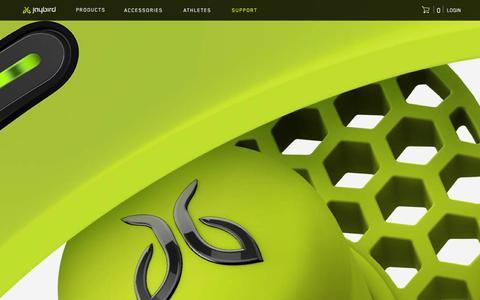 Screenshot of Press Page jaybirdsport.com - Jaybird   Reviews - captured Dec. 11, 2015