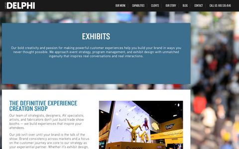 Custom Trade Show Exhibit Design Company | Group Delphi