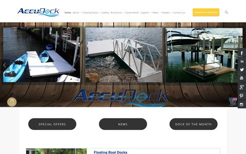 Floating Boat Docks And Swimming Platforms | AccuDock