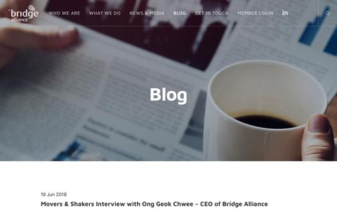 Screenshot of Blog bridgealliance.com - Blog - Bridge Alliance - captured Aug. 3, 2018
