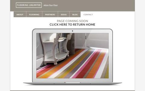 Screenshot of Blog About Page Site Map Page flooringunlimited.co.uk - Coming Soon - Flooring Unlimited - captured Oct. 23, 2014