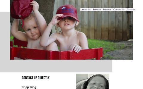 Screenshot of Contact Page kpsllc.com - Contact - captured Oct. 6, 2014