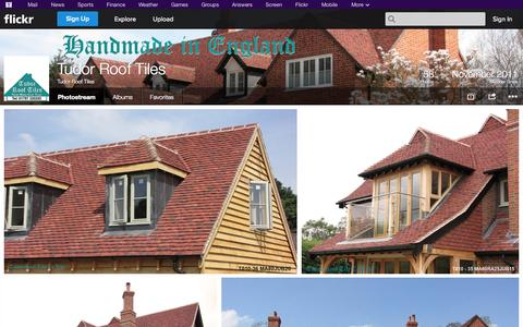 Screenshot of Flickr Page flickr.com - Flickr: Tudor Roof Tiles' Photostream - captured Oct. 26, 2014