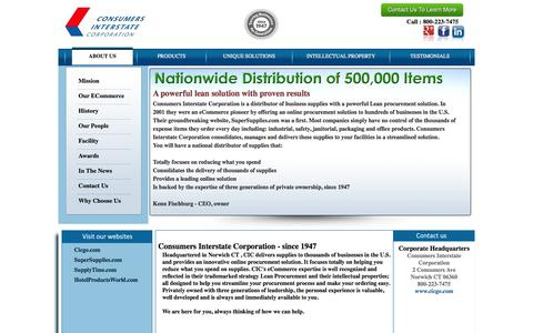 Consumers Interstate Corporation Home Page