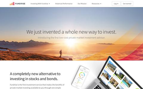 Fundrise | Real estate investing has never been easier. | Fundrise
