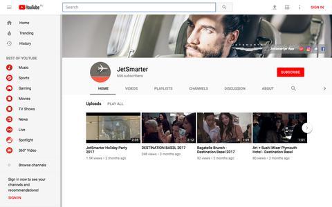 JetSmarter - YouTube - YouTube