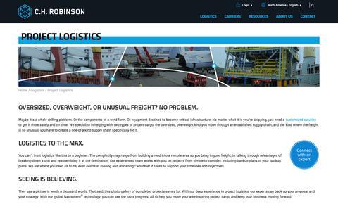 Project Logistics | C.H. Robinson