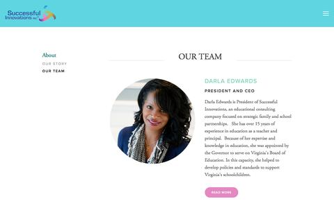 Screenshot of Team Page si4all.com - Our Team — Successful Innovations Inc. - captured Oct. 24, 2017