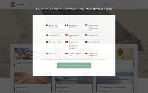 Screenshot of About Page carmignac.com - Our core activity: managing assets | Carmignac - captured July 15, 2017