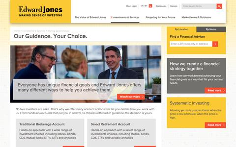 Investment Account Types | Edward Jones