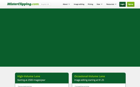 Screenshot of Jobs Page misterclipping.com - Mister Clipping - THE Photo editing and retouching service - captured Oct. 26, 2014