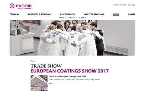 ECS2017 - Evonik Industries AG