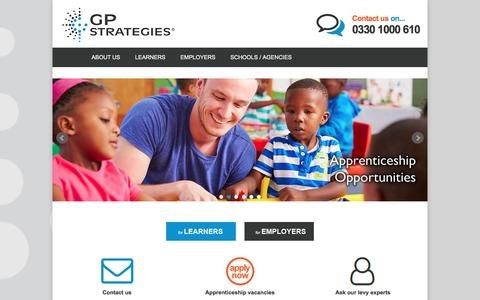 GP Strategies Training LimitedHomepage