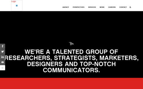 Screenshot of Services Page Team Page Locations Page six-degrees.com - Six Degrees | Psycho Sensory Marketing Agency | Six Degrees - captured Oct. 18, 2018