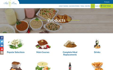 Screenshot of Products Page idealprotein.com - Products Archive - Ideal Protein - captured July 20, 2019
