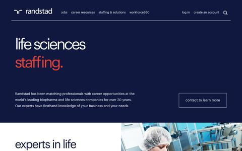 Pharmaceutical Recruitment | Randstad USA