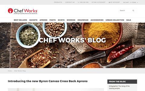 Screenshot of Blog chefworks.com.au - Chef Works' Blog - captured April 12, 2017