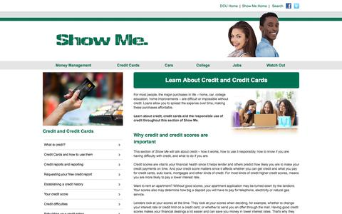 Credit Guide | DCU Show Me Consumer Education Program