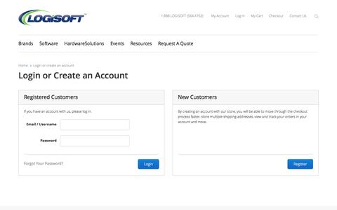 Screenshot of Login Page stockinthechannel.com - Customer Login - captured April 14, 2016