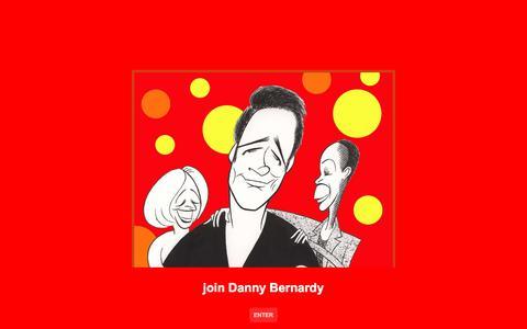 Screenshot of Home Page dannybernardy.com - join Danny Bernardy - captured Oct. 13, 2017