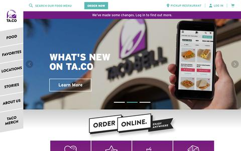 Taco Bell | Customize your favorites. Order now!