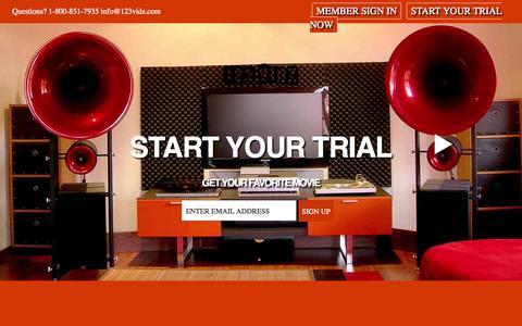 Screenshot of Terms Page 123vidz.com - 123vidz - Watch Movies Instantly Online - captured Oct. 30, 2014