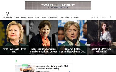 Screenshot of Team Page refinery29.com - Interviews, Profiles Of Most Interesting People - captured Nov. 18, 2015