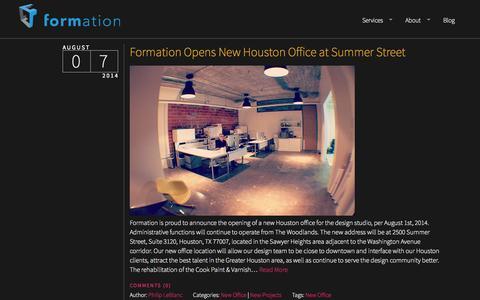Screenshot of Blog formdg.com - Formation  | Blog - captured Oct. 6, 2014