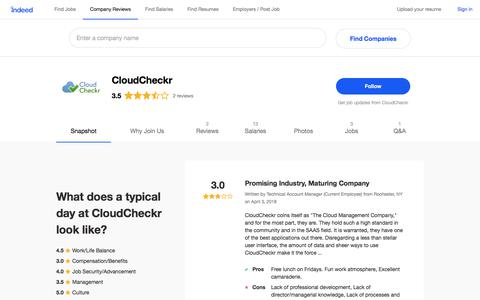 CloudCheckr Careers and Employment | Indeed.com